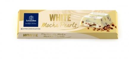Бела чоколада со шеќер со вкус на мока - 50 g