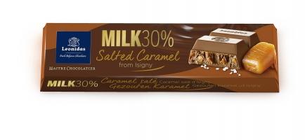 Млечна чоколада со солен карамел  - 50 g