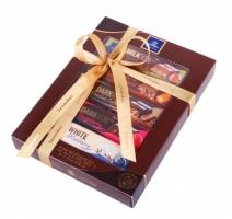 Пакување со пет Леонидас белгиски чоколада од 50 g