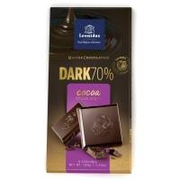 Црна чоколада со најмалку 70% какао  - 100 g